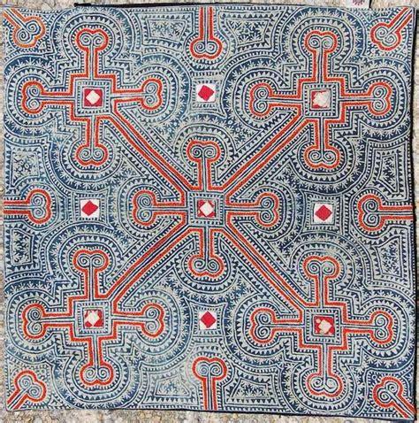 batik design in china yunnan miao batik china ornaments patterns