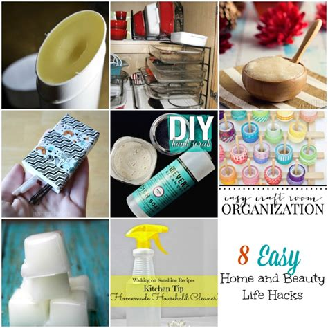life hacks for home 8 home and beauty life hacks and the project stash