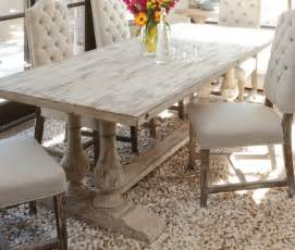 Distressed Wood Dining Room Table Distressed Wood Kitchen Tables Foter