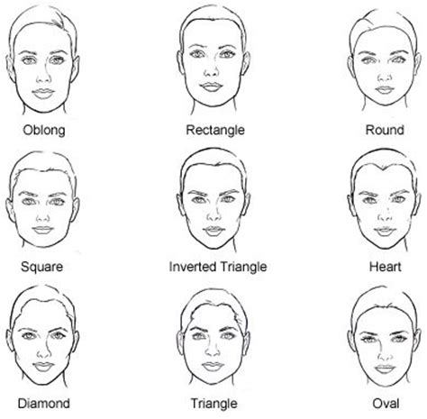 hairstyles based on the shape of head best 25 head shapes ideas on pinterest drawing face