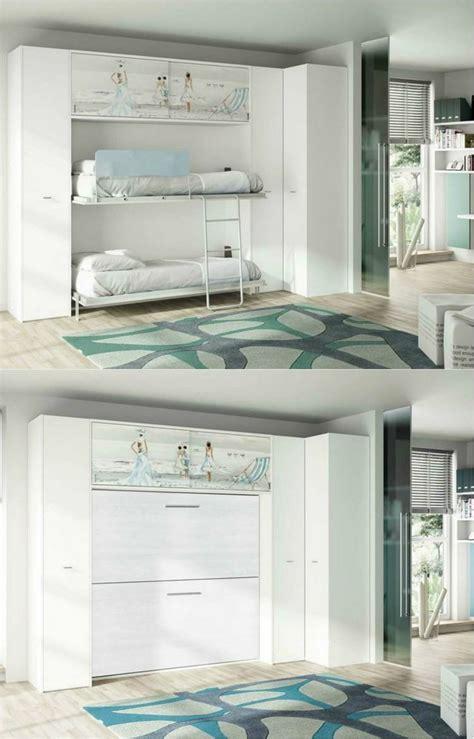 lits superposes escamotables armoire lit escamotable et lits superpos 233 s chambre d enfant