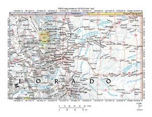 map of northeast colorado platte river drainage basin landform origins colorado