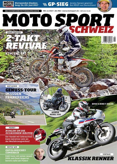 Yamaha Motorrad Leasing Deutschland by Moto Sport Schweiz Die Neuste Ausgabe Mit Spannenden