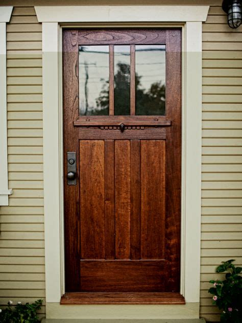 Cedar Front Door by Craftsman Cottage Dreams On Craftsman Craftsman Style Ho