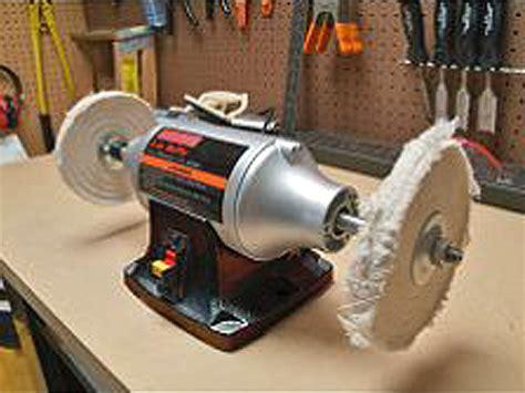 craftsman bench buffer about polishing aluminum