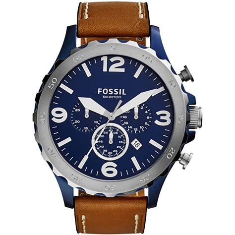 Fossil Jr1504 Nate Chronograph fossil jr1504 gents nate