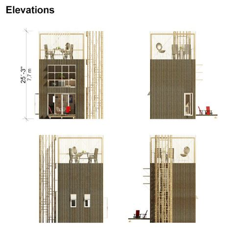 tower house plans small tower house plans