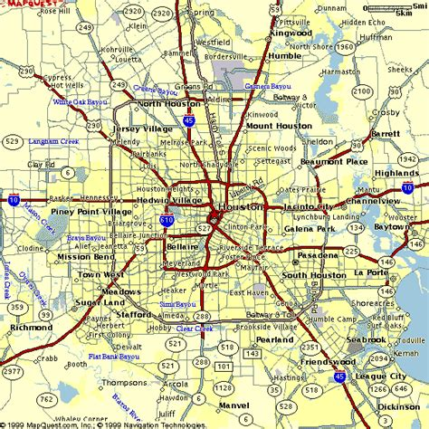 texas map houston area map houston fort worth