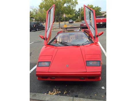 Used Lamborghini For Sale By Owner 1989 Lamborghini Countach Replica Classic Car By Owner
