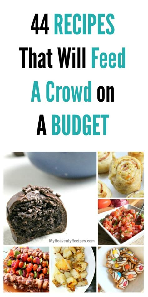 food for a crowd easy party food for a crowd for all your 44 recipes that will feed a crowd on a budget my