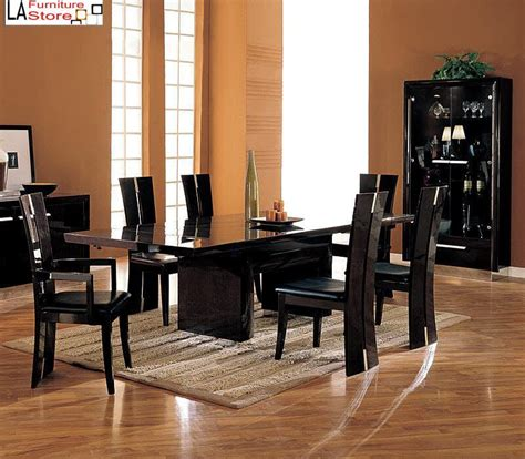 Dark Wood Extendable Dining Table Furniture Home Black Wood Dining Room Table