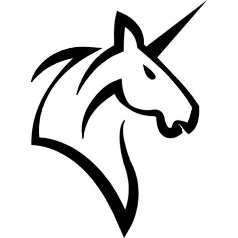 imagenes de unicornios blanco y negro unicornio cabeza fotos y vectores gratis