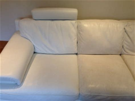 how to clean white leather sofa how to clean leather furniture clinic