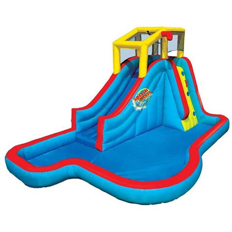 water slide toys r us kohl s banzai splash park only 159 99 shipped after