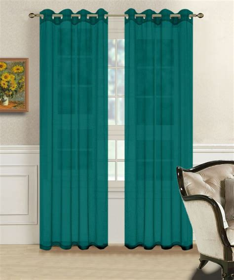 Sheer Teal Curtains Best 25 Teal Curtains Ideas On Window Curtains Curtains For Bedroom And Curtain