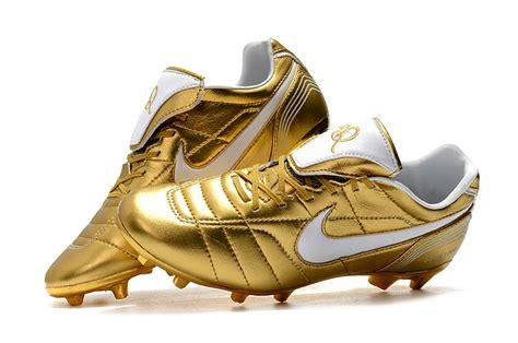 nike tiempo legend vii  elite fg football boots gold white