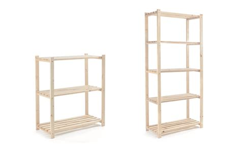 scaffali in kit 187 scaffale in legno abete in kit prezzo