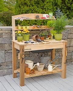 Planting Table 1000 Ideas About Potting Benches On Pinterest Potting