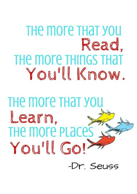 printable seuss quotes dr seuss free printable