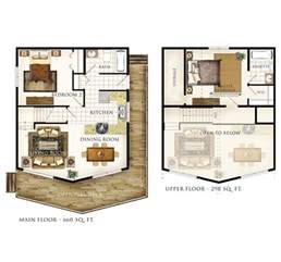 open loft house plans another cabin idea except turn the master bedroom into