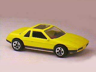 Wheels Pontiac Fiero 2m4 1996 Hotwheels collection 1996 wheels