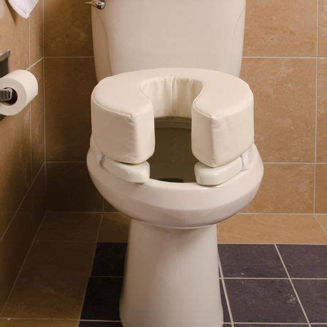 toilet seat cushion walmart dmi 2 quot vinyl foam toilet seat cushion walmart canada