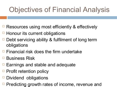 objective of financial statement analysis objectives of financial statement analysis 28 images