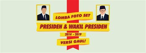 Kaos Jokowi Presidenku 2014 Jokowi 10 White lomba foto set presiden wakil presiden ri 2014 2019