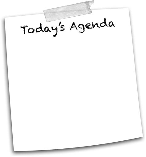 today s today s agenda bing images