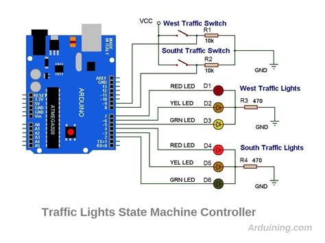 traffic light wiring wiring diagram with description