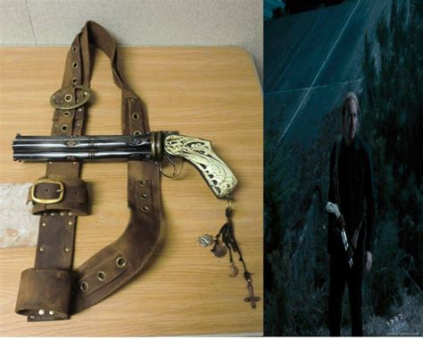 killer gun stunt god killer gun with holster prop from