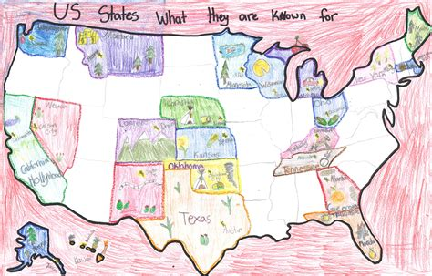 map of us what states are known for usa maps osher map library