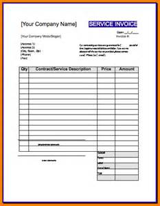Contractor Template Invoice 6 Contractor Invoice Template Receipt Templates