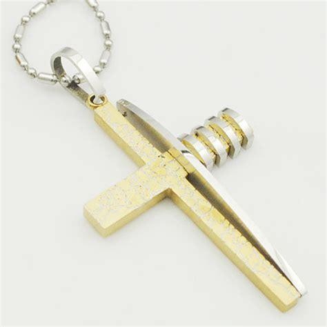 Kalung Fashion 48 buy grosir salib emas kalung from china salib emas
