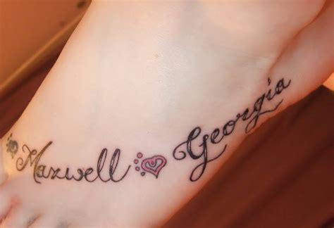 tatouage pr 233 nom