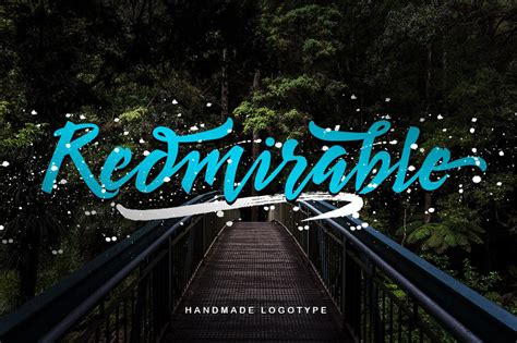 Handmade Typeface - redmirable handmade typeface age themes