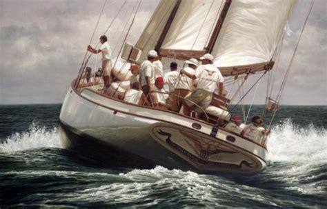 boat lettering marblehead ma l francis herreshoff tioga ii classic sailboats