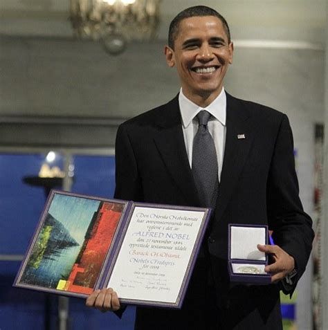 barack obama biography nobel prize video and photos of muammar gadhafi being sodomized with a