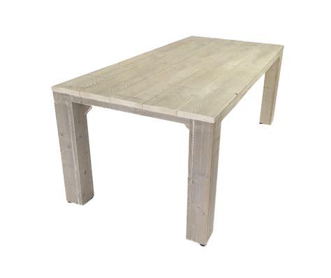 tafelblad maken voor buiten steigerhouten tuintafel houten eettafel voor buiten op maat