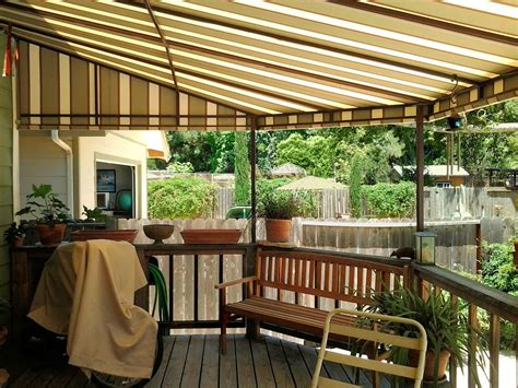 patio awning ideas impressive canvas patio covers the