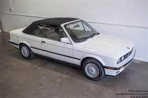 1991 bmw 325i convertible ppw motorcars llc
