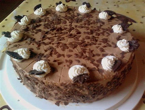 schoko dekor selber machen schoko sahne torte inlovegirl chefkoch de