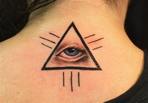 triangle tattoos designs ideas and meaning tattoos for you