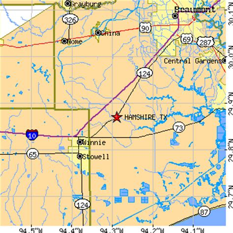 winnie texas map hamshire texas tx population data races housing economy