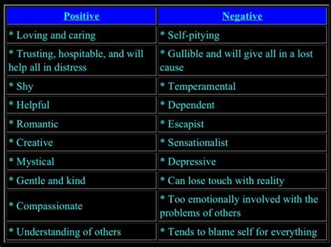 positive and negative traits of the pisces omg s