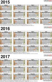 Croatia Calendario 2018 Calendars 2017 Color Chainimage