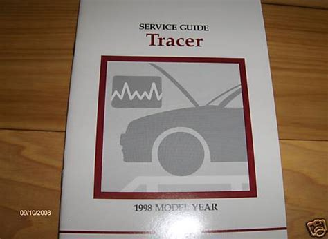 motor auto repair manual 1998 mercury tracer seat position control 1998 mercury tracer service guide owners manual supplement ebay