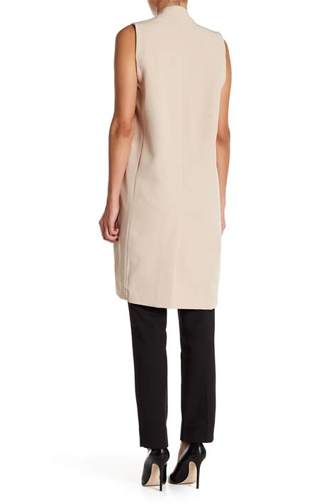 Nordstrom Rack Ri by Blvd Sleeveless Solid Jacket Nordstrom Rack