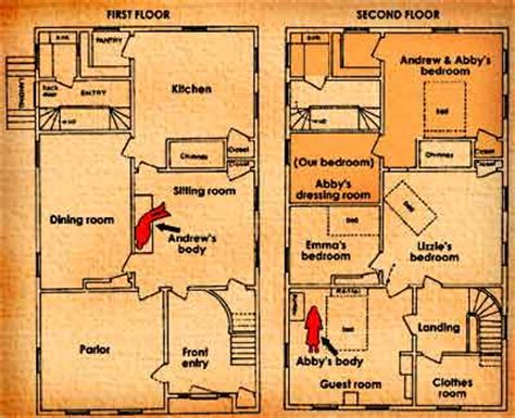 lizzie borden house floor plan american ghost stories the spirits of the lizzie borden