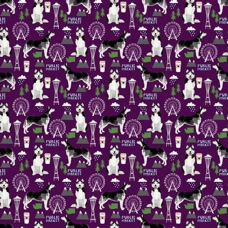husky puppies seattle husky seattle fabric dogs in seattle fabric purple fabric
